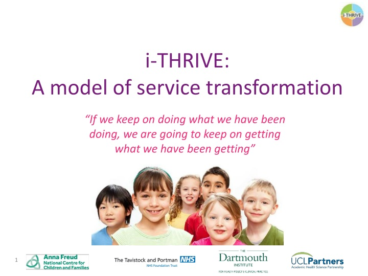 i thrive a model of service transformation n.