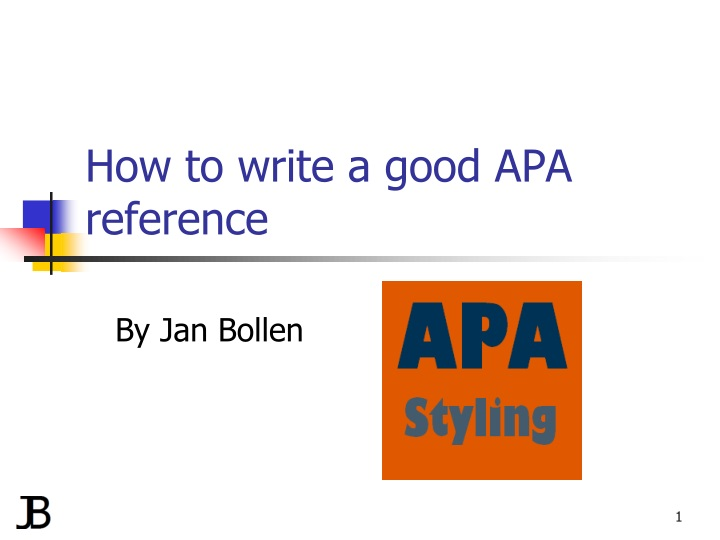 how to write a good apa reference n.
