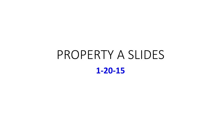 property a slides n.