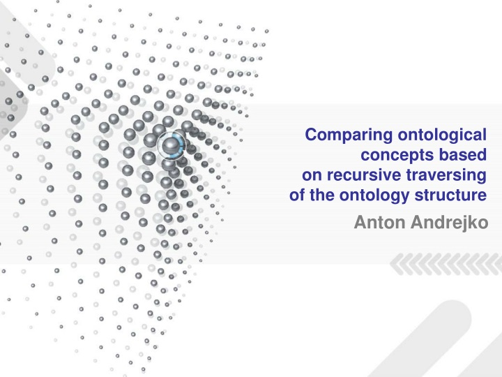comparing ontological concepts based on recursive traversing of the ontology structure n.
