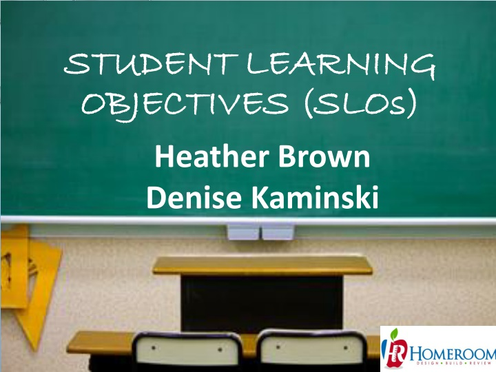 student learning objectives slo s n.
