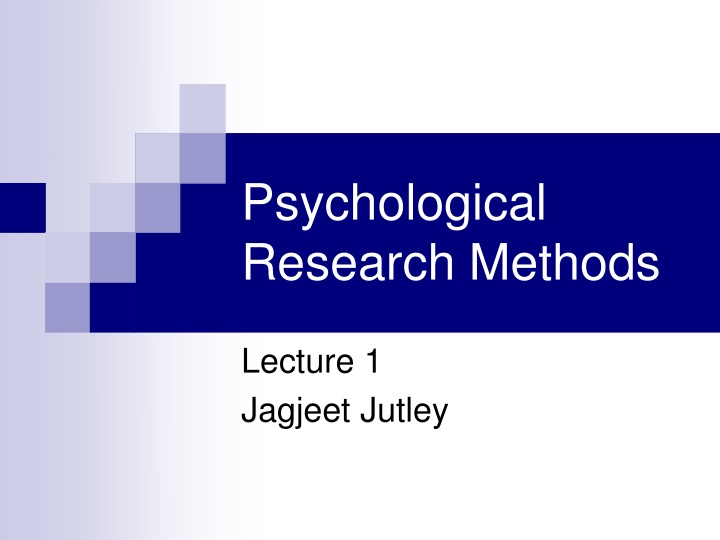 psychological research methods n.