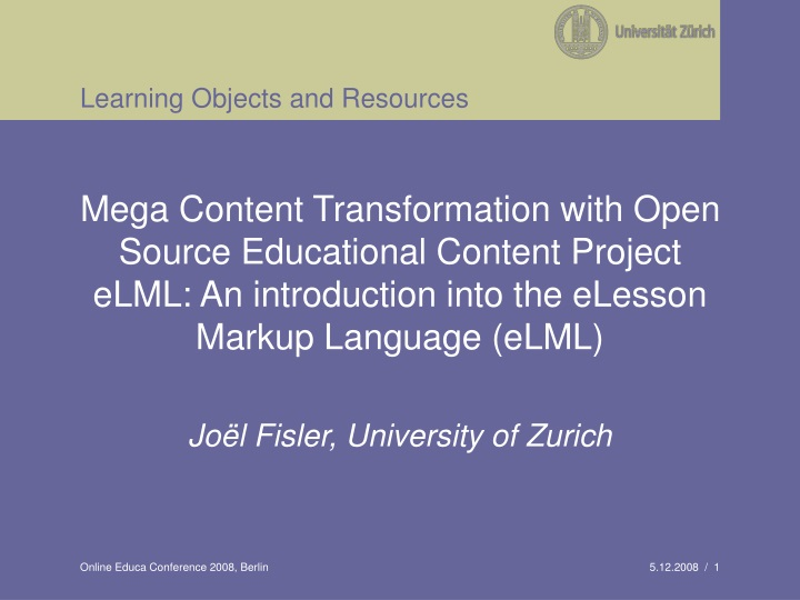 learning objects and resources n.