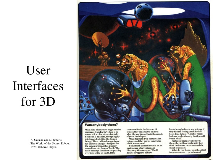 user interfaces for 3d n.