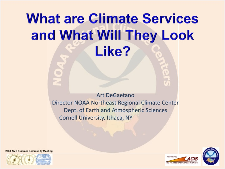 what are climate services and what will they look like n.