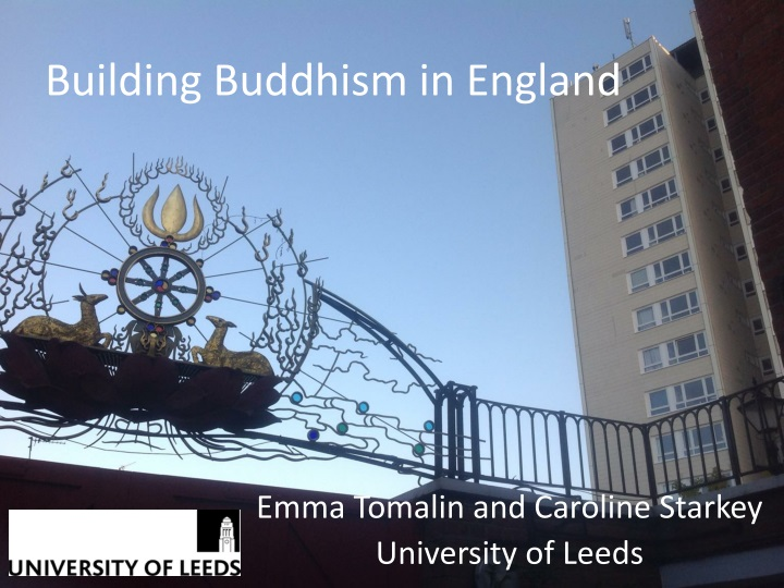 building buddhism in england n.