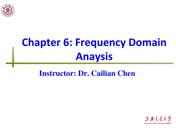 chapter 6 frequency domain anaysis n.