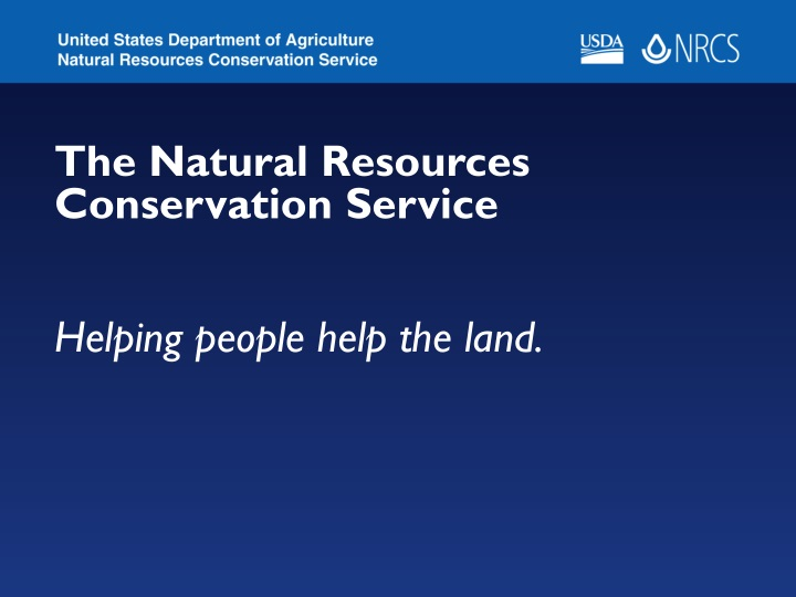 the natural resources conservation service n.
