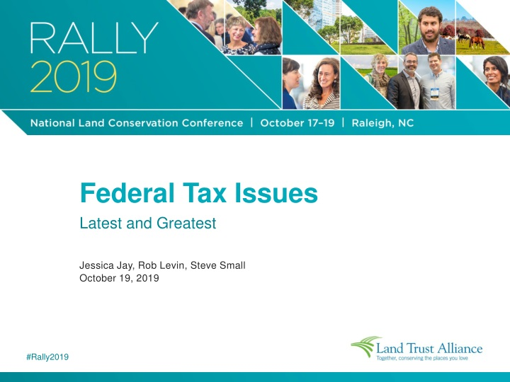 federal tax issues latest and greatest jessica n.