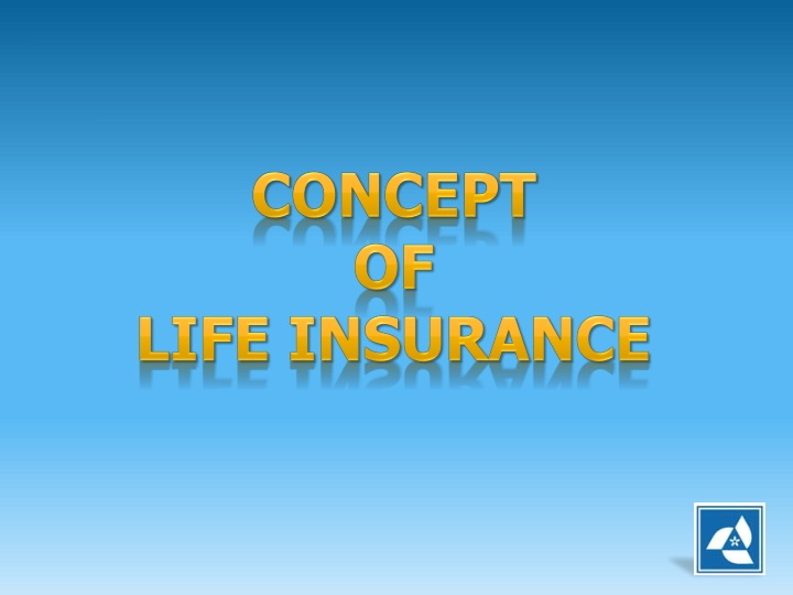 concept of life insurance n.