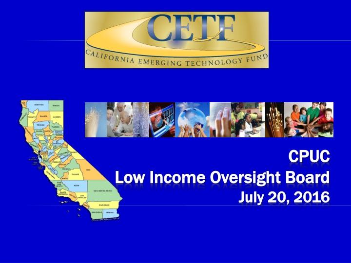cpuc low income oversight board july 20 2016 n.