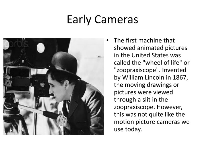 early cameras n.
