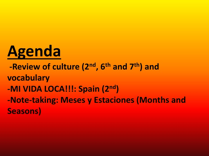 agenda review of culture n.