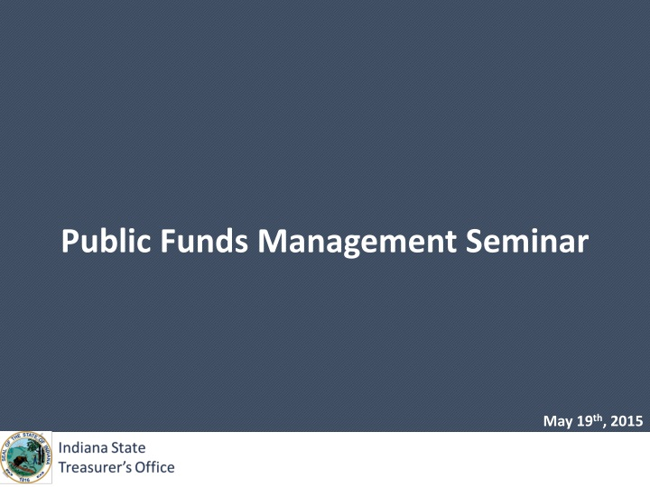 public funds management seminar n.
