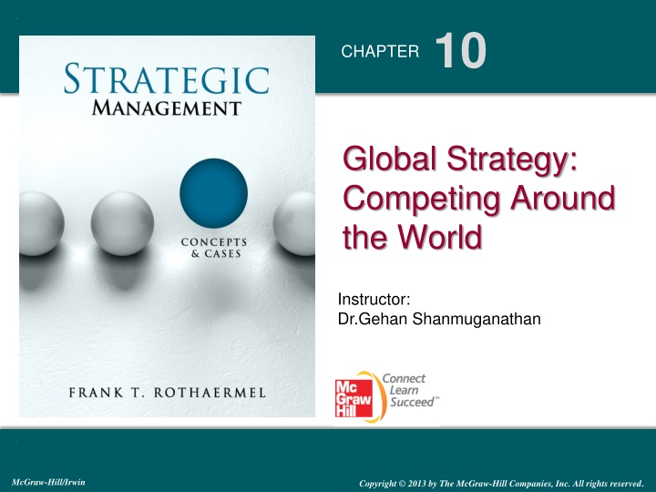 global strategy competing around the world n.