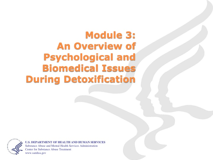 module 3 an overview of psychological and biomedical issues during detoxification n.