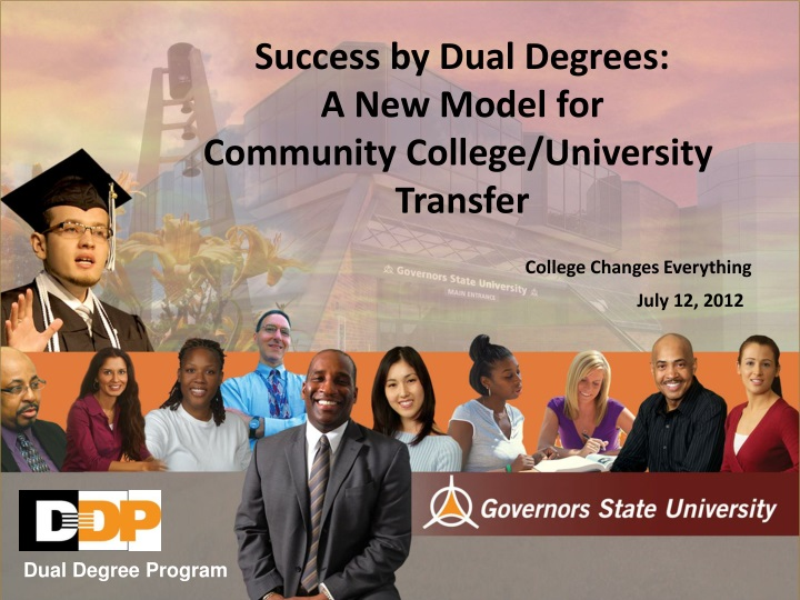 success by dual degrees a new model for community n.