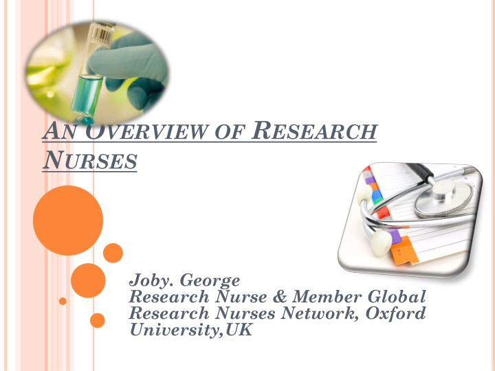 an overview of research nurses n.