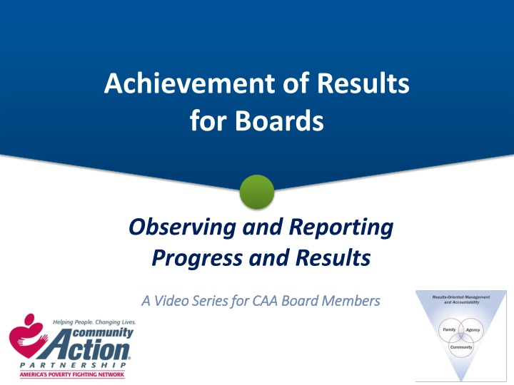 achievement of results for boards n.