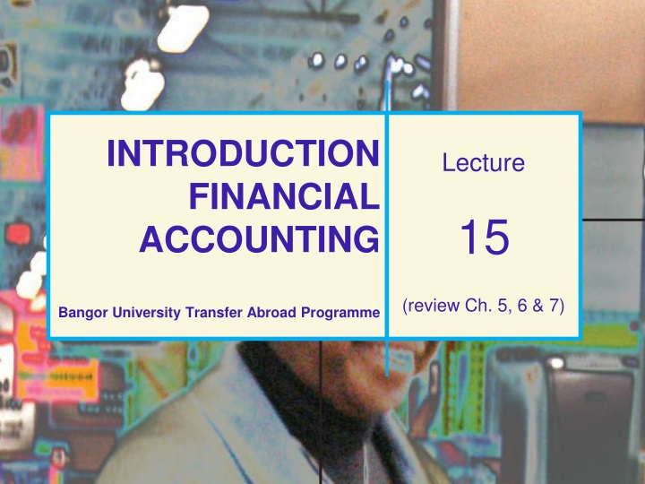 introduction financial accounting bangor university transfer abroad programme n.