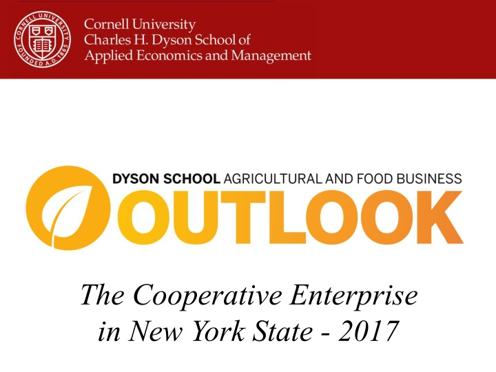 the cooperative enterprise in new york state 2017 n.