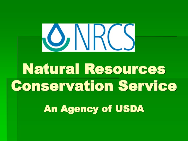 natural resources conservation service an agency of usda n.