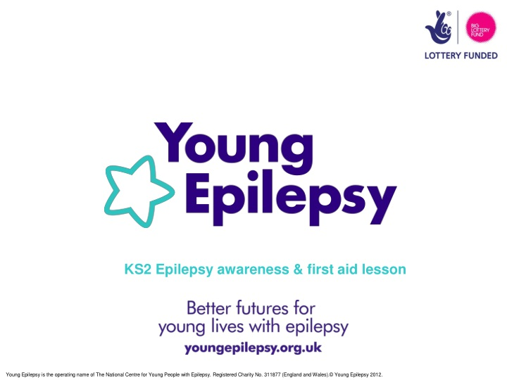 ks2 epilepsy awareness first aid lesson n.