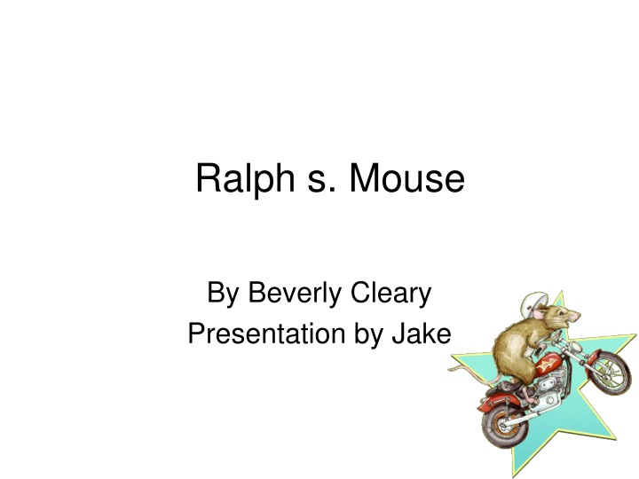 ralph s mouse n.