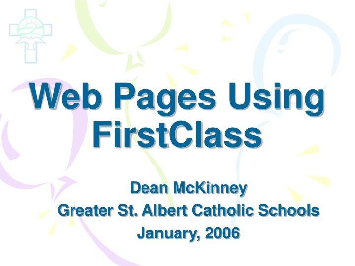 web pages using firstclass n.