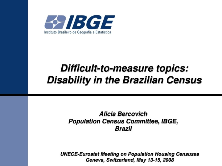 difficult to measure topics disability n.