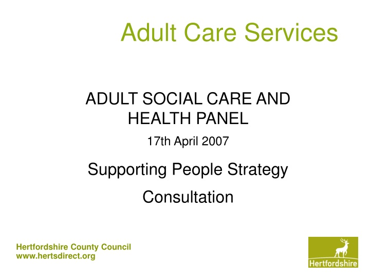 adult care services n.