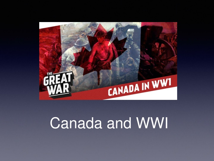 canada and wwi n.