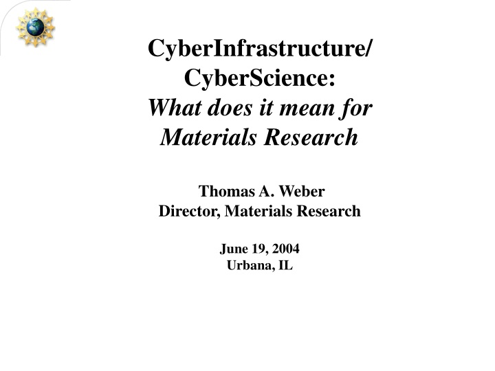 cyberinfrastructure cyberscience what does n.