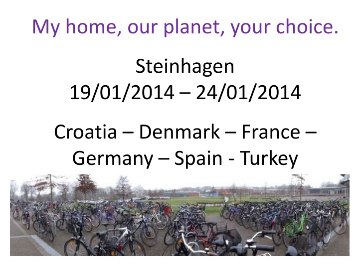 my home our planet your choice steinhagen n.