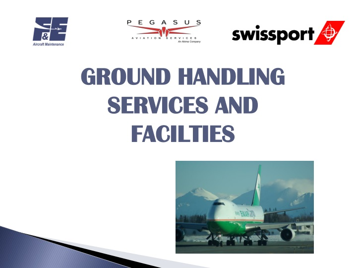 ground handling services and facilties n.