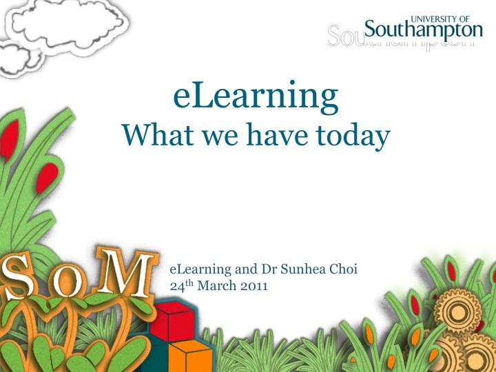 elearning what we have today n.