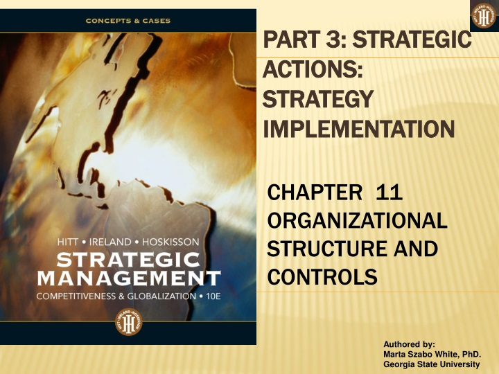 part 3 strategic actions strategy implementation n.
