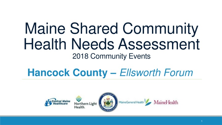 maine shared community health needs assessment 2018 community events n.