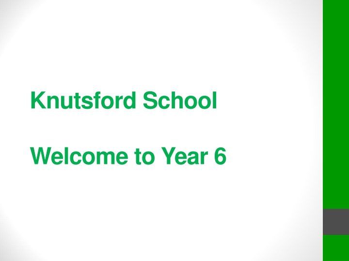 knutsford school welcome to year 6 n.
