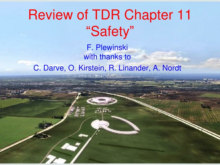 review of tdr chapter 11 safety n.