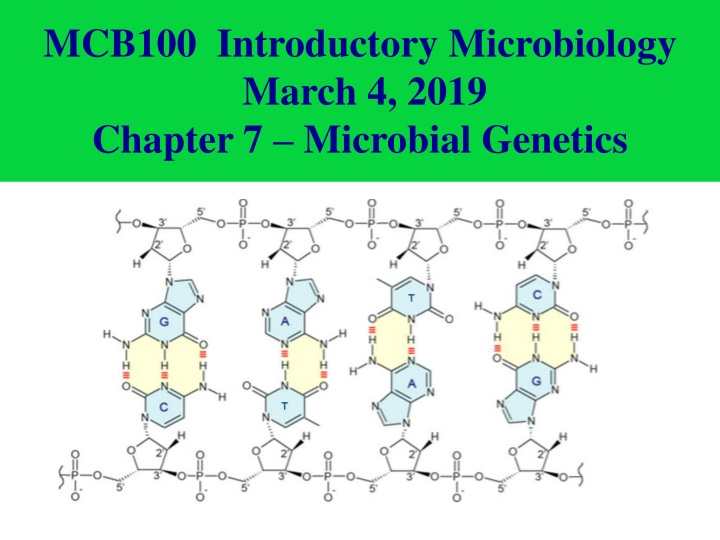 mcb100 introductory microbiology march 4 2019 n.