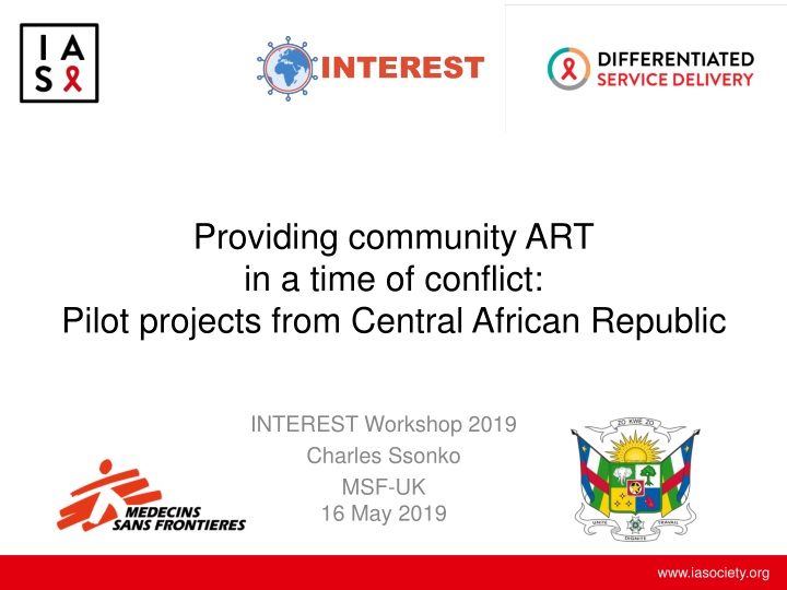 providing community art in a time of conflict pilot projects from central african republic n.