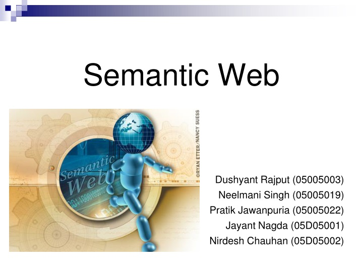semantic web n.