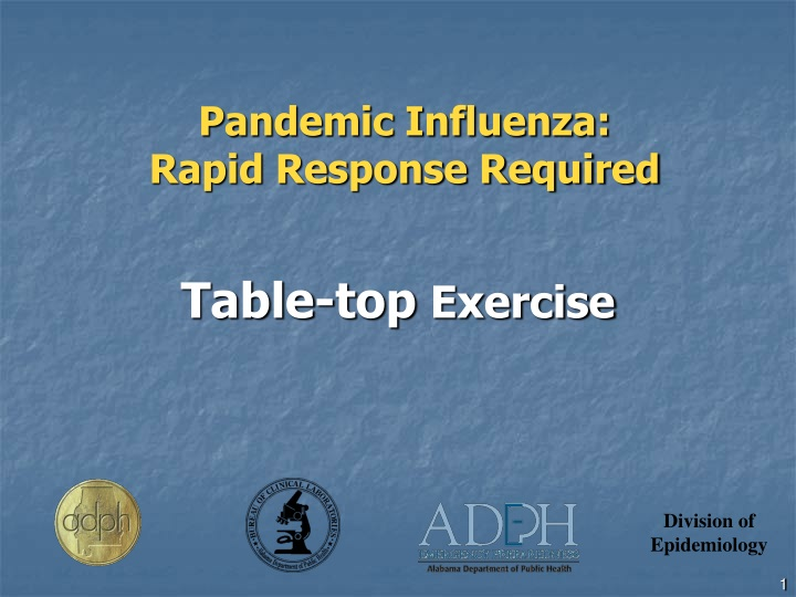 pandemic influenza rapid response required n.