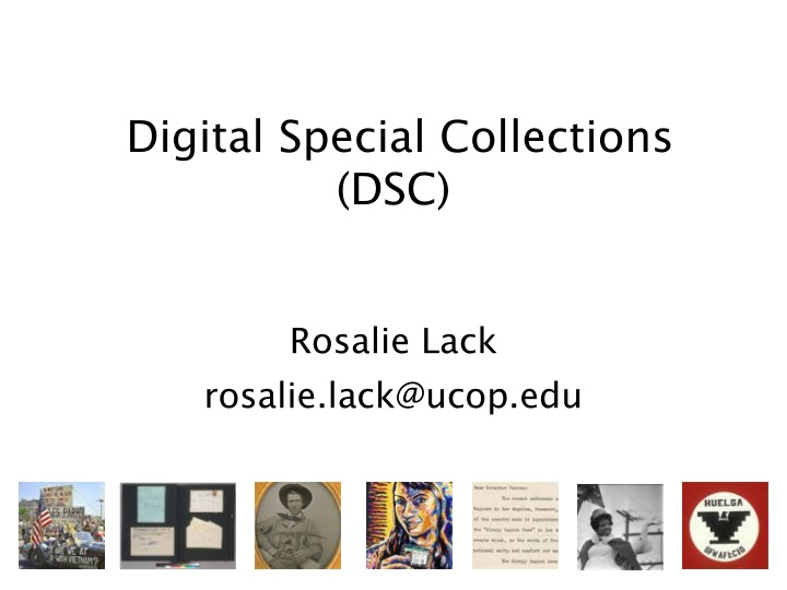 digital special collections dsc n.