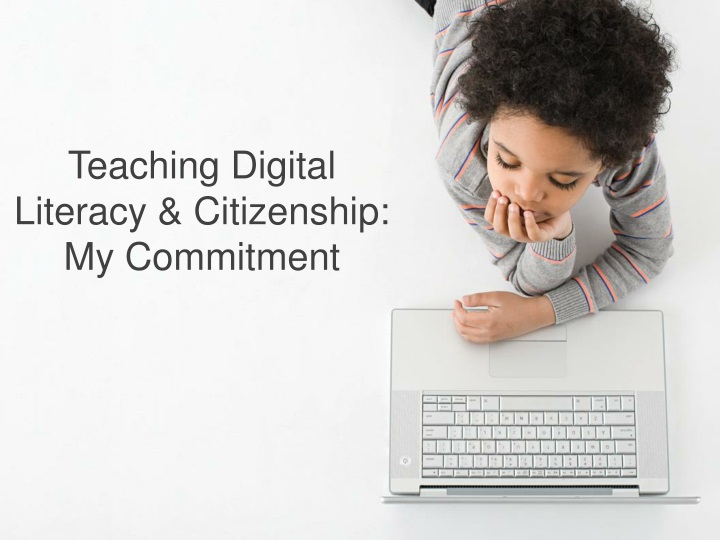 teaching digital literacy citizenship my commitment n.