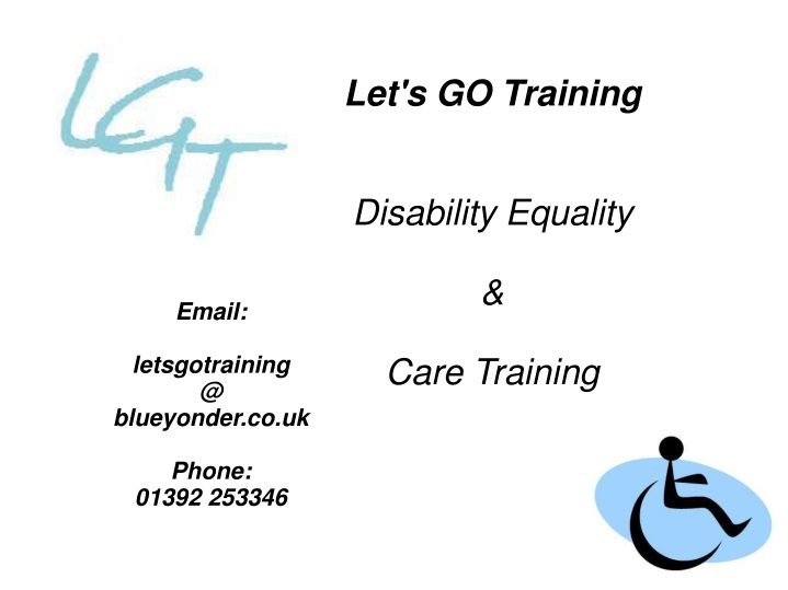let s go training disability equality care n.