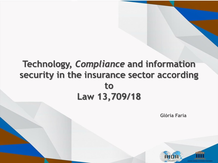 technology compliance and information security in the insurance sector according to law 13 709 18 n.