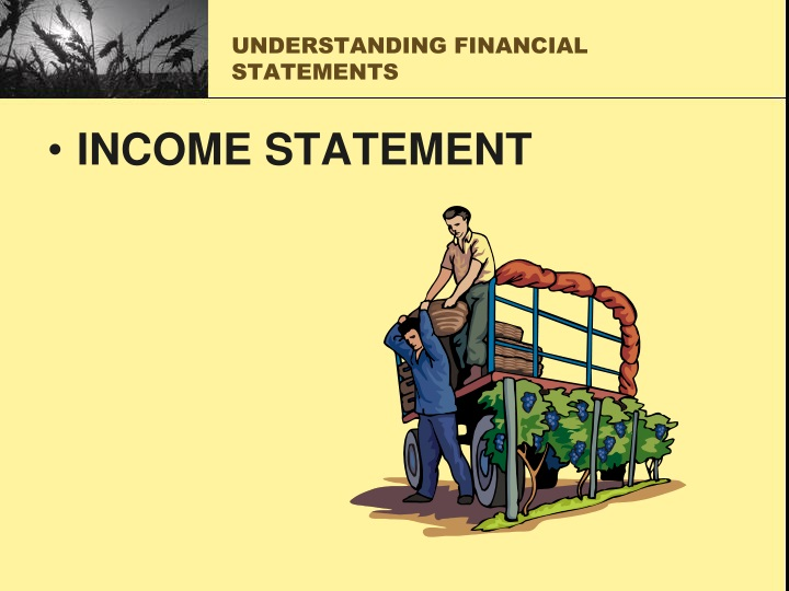understanding financial statements n.