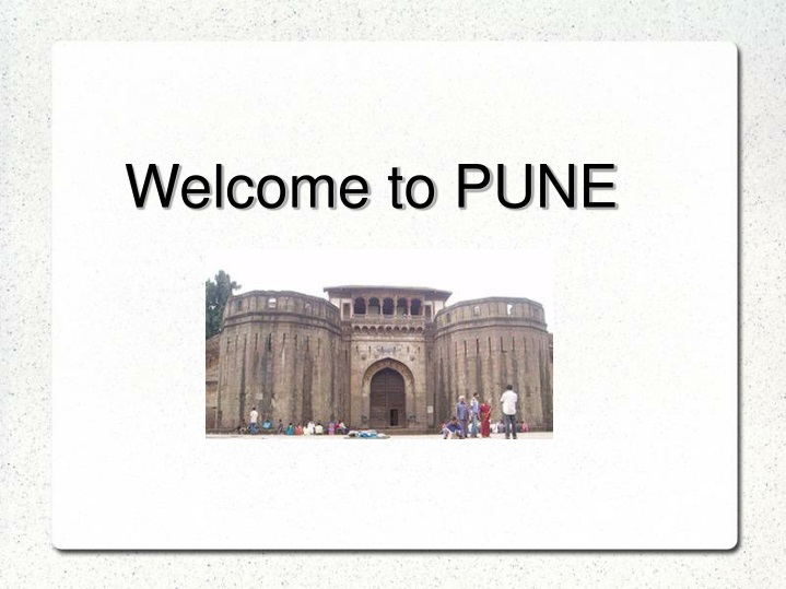 welcome to pune n.